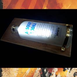 Luminária Led Absolut Vodka