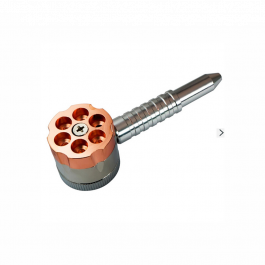 Pipe com Triturador Gun