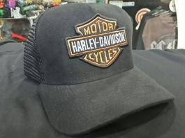 Boné trucker Harley