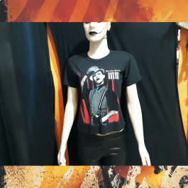 Camiseta Baby Look Marilyn Manson