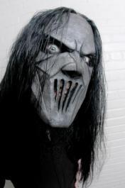 Máscara Slipknot Mick com Cabelo