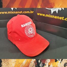 Boné Ramones vermelho