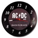 Relógio AC/DC Vinil