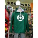 Moletom Lanterna Verde Capuz branco