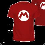 Camiseta Super Mário