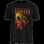 Camiseta Nirvana USA Tour 91