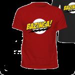 Camiseta The Big Bang Theory Bazinga!!